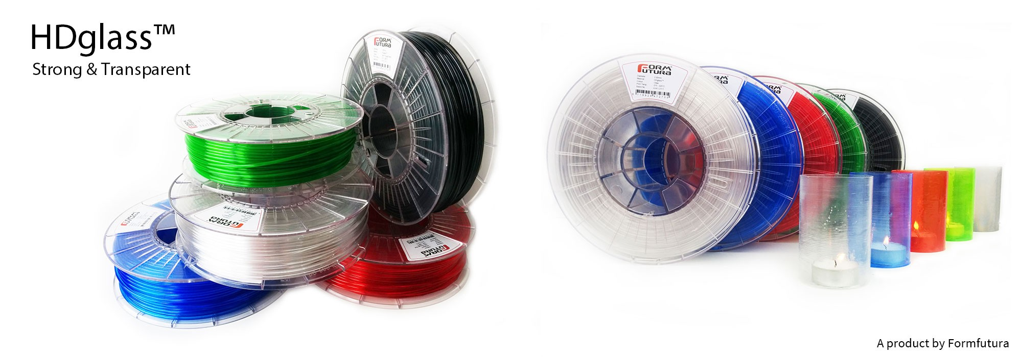 HDGLASS™ 3D Printer Filaments