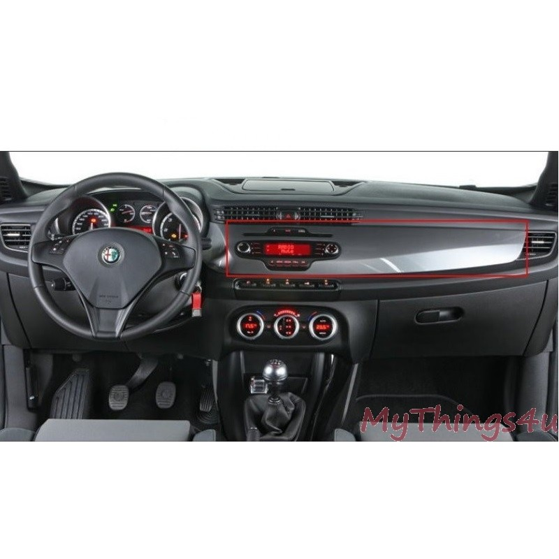 2 Din Dashboard Panel Alfa Romeo Giulietta Mythings4u