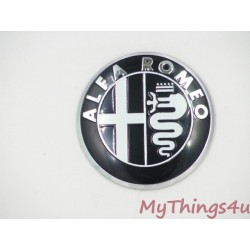 Alfa Romeo Emblem 50mm BLACK-WHITE