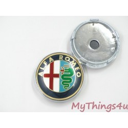 Alfa Romeo Wheel Caps 60mm - CLASSIC
