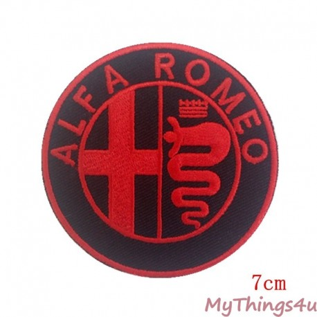 Alfa Romeo Emblem - Embroidered 7cm