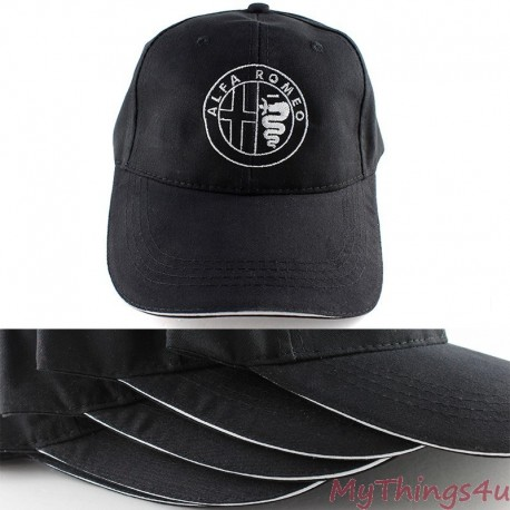 Alfa Romeo Baseball Cap Black Mythings4u