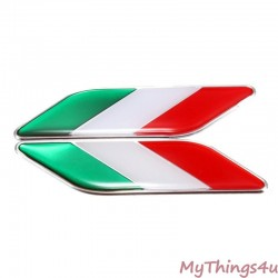 Italian Flag Emblems LUXURY