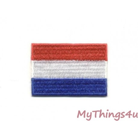 Dutch Flag - Embroidered 5x3cm