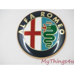Alfa Romeo front-tail Emblem 74mm CLASSIC DeLuxe