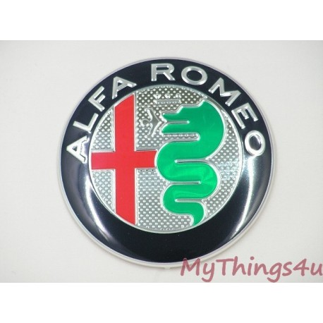 Alfa Romeo front-tail Emblem 74mm NUOVO DeLuxe