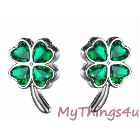 Stud Earrings Zirconia QV