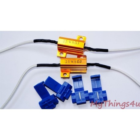 8 Ohm 25Watt Load Resistor (set)