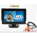 4.3 Inch Full Color Car TFT LCD Video/Camera Monitor
